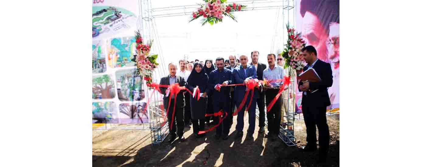 افتتاحیه نخستین باغ وحش رباتیک کشور